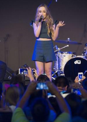 Sabrina Carpenter - Performing at D23 Festival in Anaheim