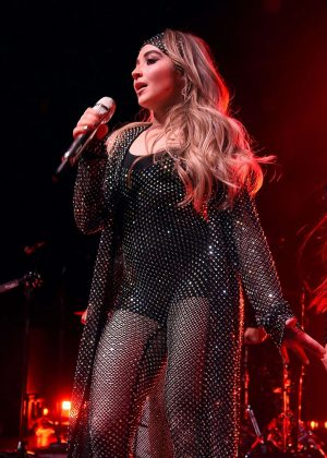 Sabrina Carpenter - Performs on stage at Irving Plaza in NYC
