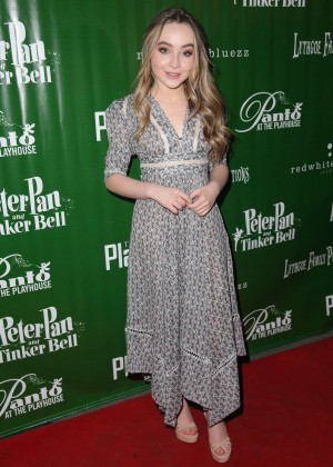 Sabrina Carpenter - 'Peter Pan And Tinker Bell - A Pirates Christmas' Opening Night in Pasadena