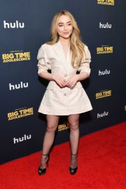 Sabrina Carpenter - Red carpet at 'Big Time Adolescence' Premiere in New York