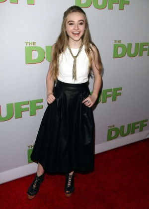 "Sabrina Carpenter - ""The Duff"" Premiere in Los Angeles"
