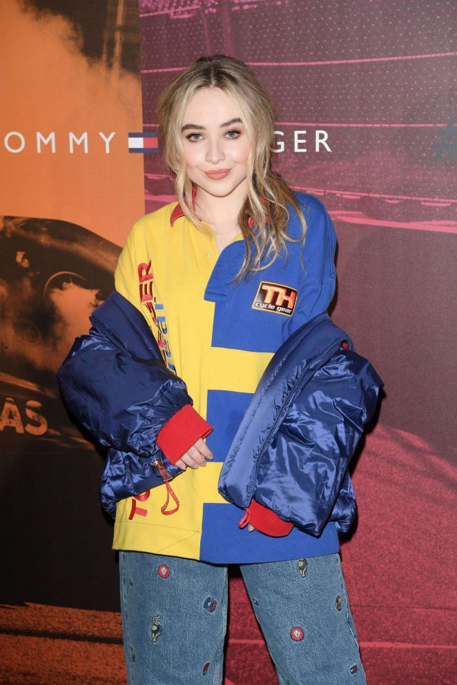 Sabrina Carpenter - Tommy Hilfiger Fashion Show 2018 in Milan