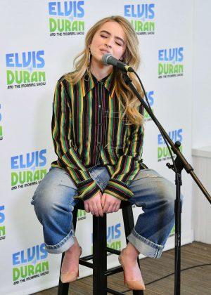 Sabrina Carpenter - Visits 'The Elvis Duran Z100 Morning Show' in NYC