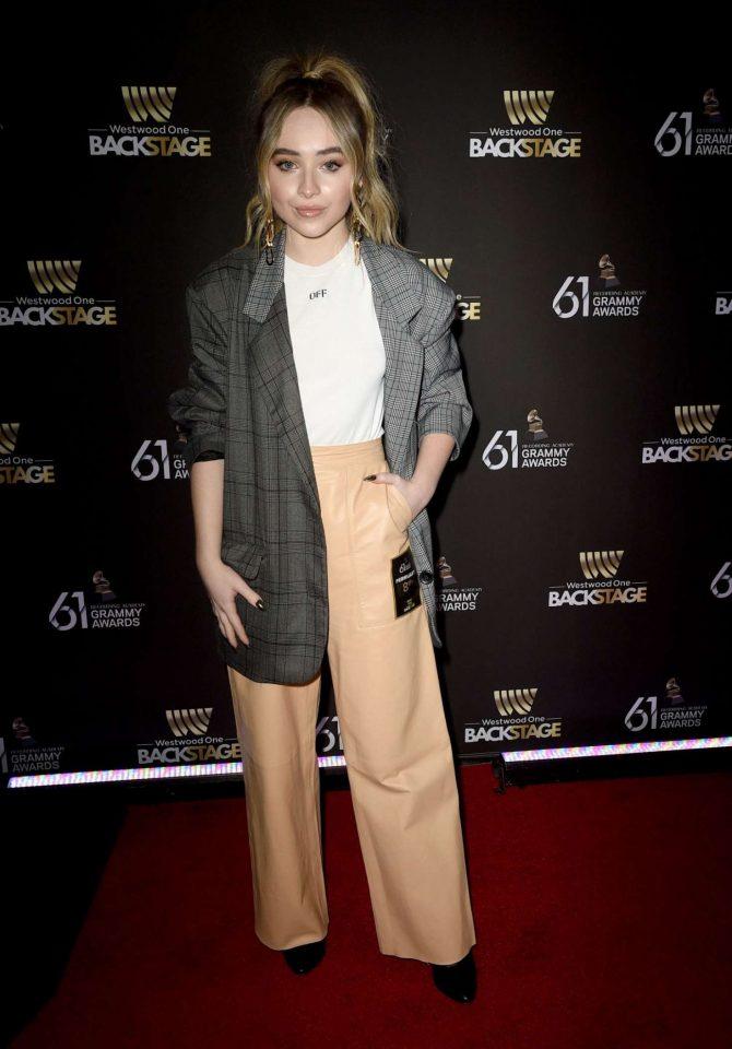 Sabrina Carpenter – Westwood One Radio Roundtables in LA