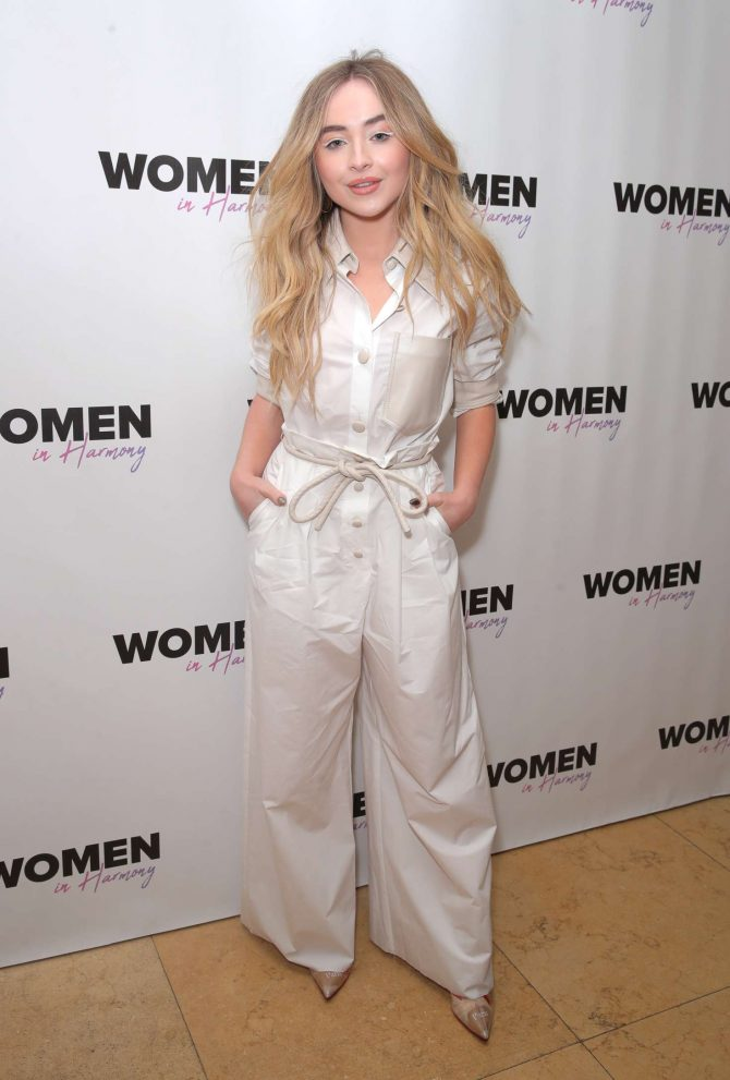 Sabrina Carpenter – 'Women In Harmony' Brunch in Los Angeles