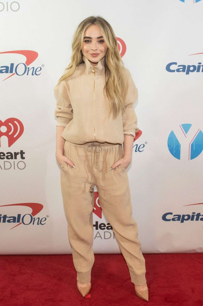 Sabrina Carpenter - Y100's iHeartRadio Jingle Ball 2018 in Sunrise