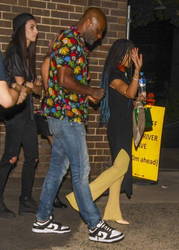 Sabrina Dhowre Elba - With Tessa Thompson leaving the Mardi Gras festivities in Sydney