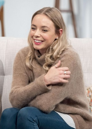 Sacha Parkinson - Lorraine TV Show in London