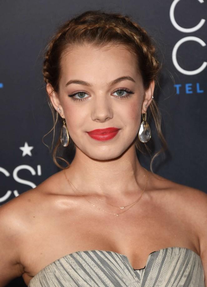 Sadie Calvano - 2015 Critics Choice Television Awards in Beverly Hills