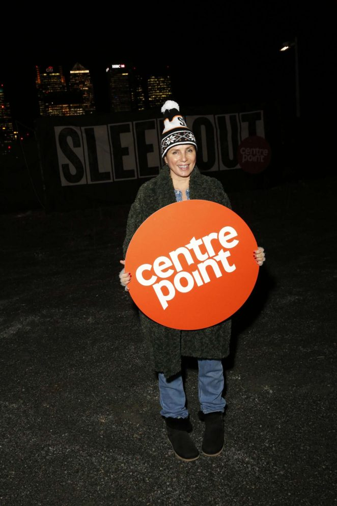Sadie Frost - Centrepoint Sleepout 2016 in London