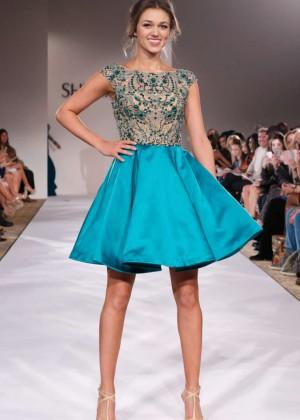 Sadie Robertson - Sherri Hill Fashion Show 2015 in New York