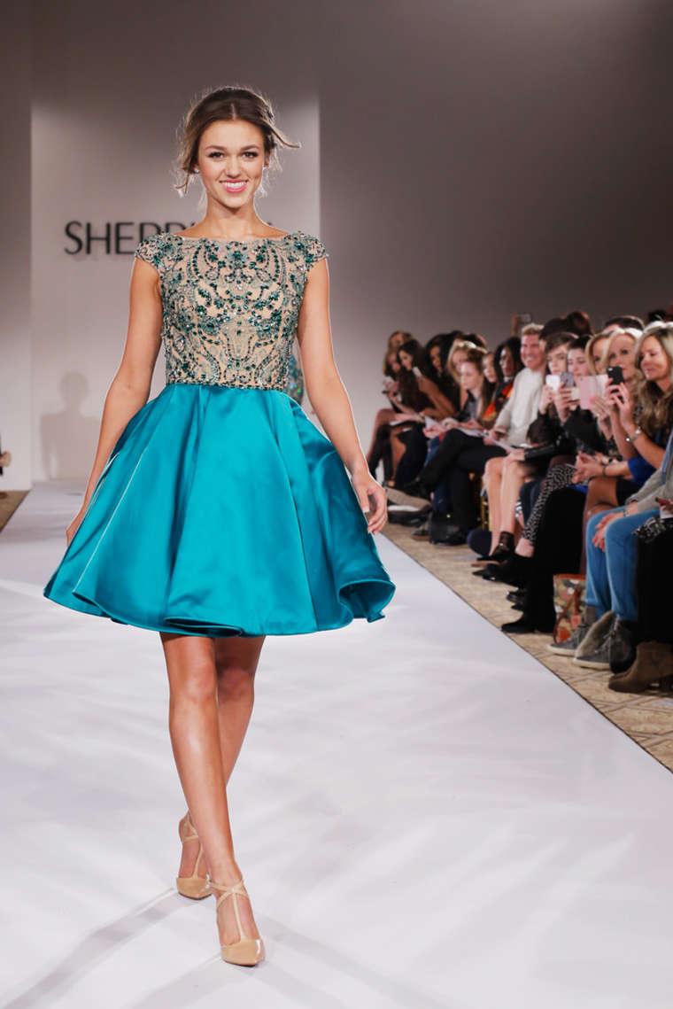 Sadie Robertson: Sherri Hill Fashion Show 2015 -04 | GotCeleb