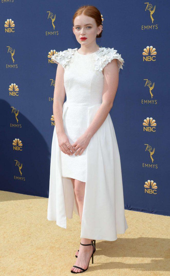 Sadie Sink – 70th Primetime Emmy Awards in LA