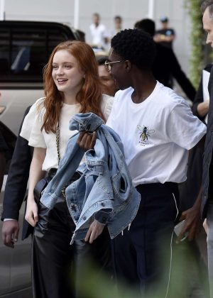 Sadie Sink at Four Seasons Hotel in Buenos Aires