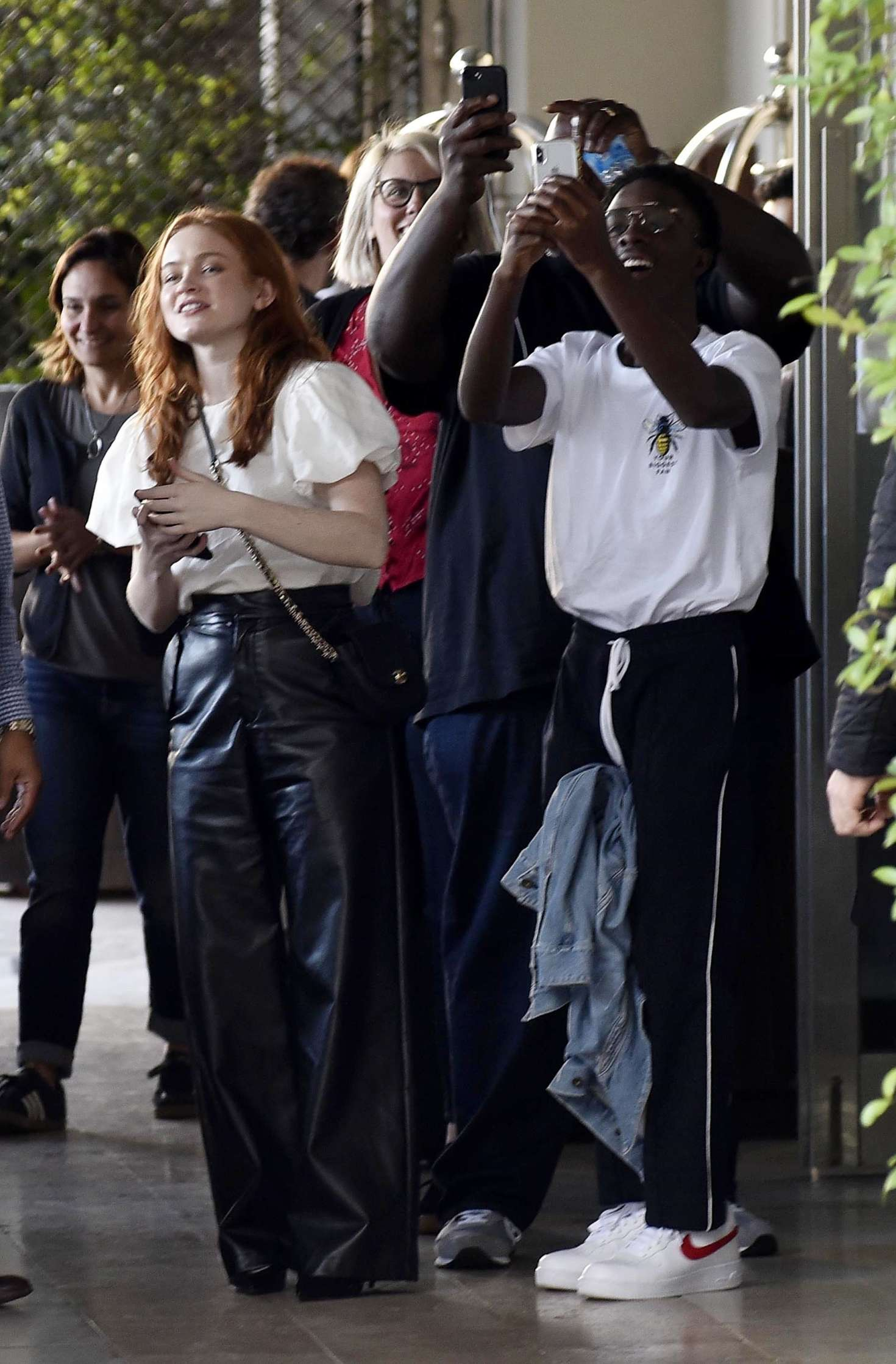 Sadie Sink 2018 : Sadie Sink at Four Seasons Hotel -02