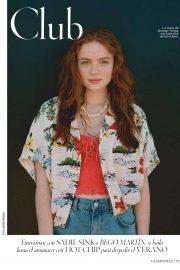 Sadie Sink - Glamour Espana Magazine (August 2019)