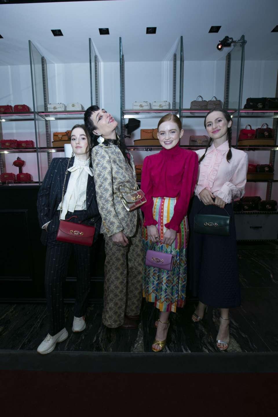 Sadie Sink 2019 : Sadie Sink – Gucci Zumi Handbag Collection-12
