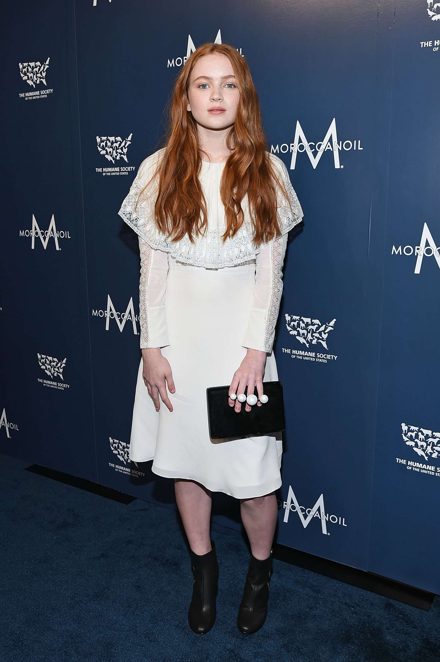 Sadie Sink 2017 : Sadie Sink – Humane Society Of The United States To The Rescue Gala -12