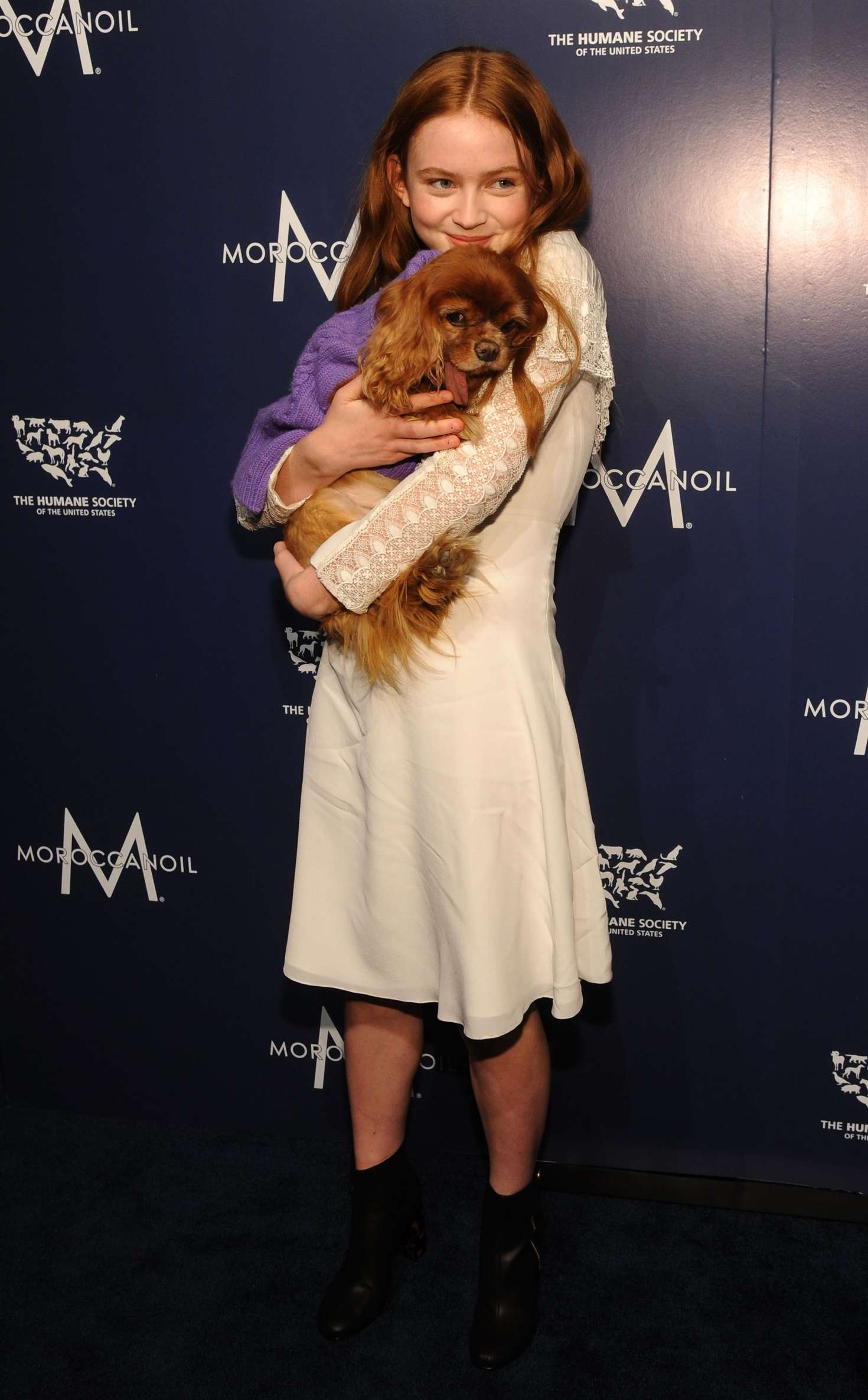Sadie Sink 2017 : Sadie Sink – Humane Society Of The United States To The Rescue Gala -13