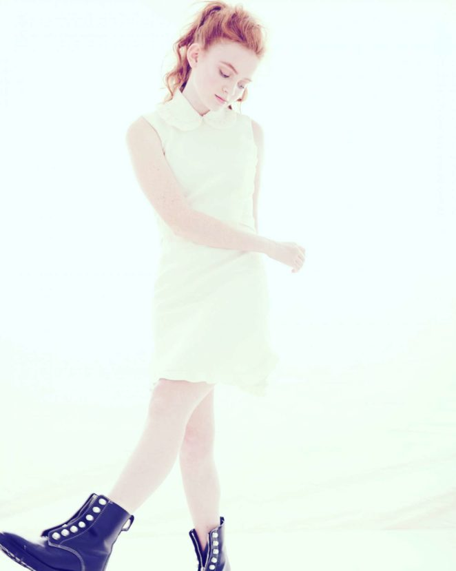 Sadie Sink - James Lee Wall Photoshoot 2017