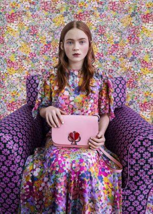 Sadie Sink - Kate Spade 2019 Spring Brand Campaign