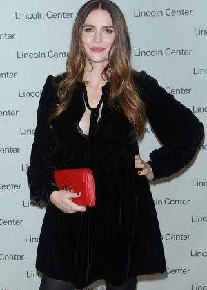 Saffron Burrows - Lincoln Center's Mostly Mozart Opening Night Gala in NY