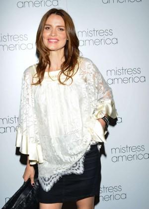 Saffron Burrows - 'Mistress America' Premiere in NY