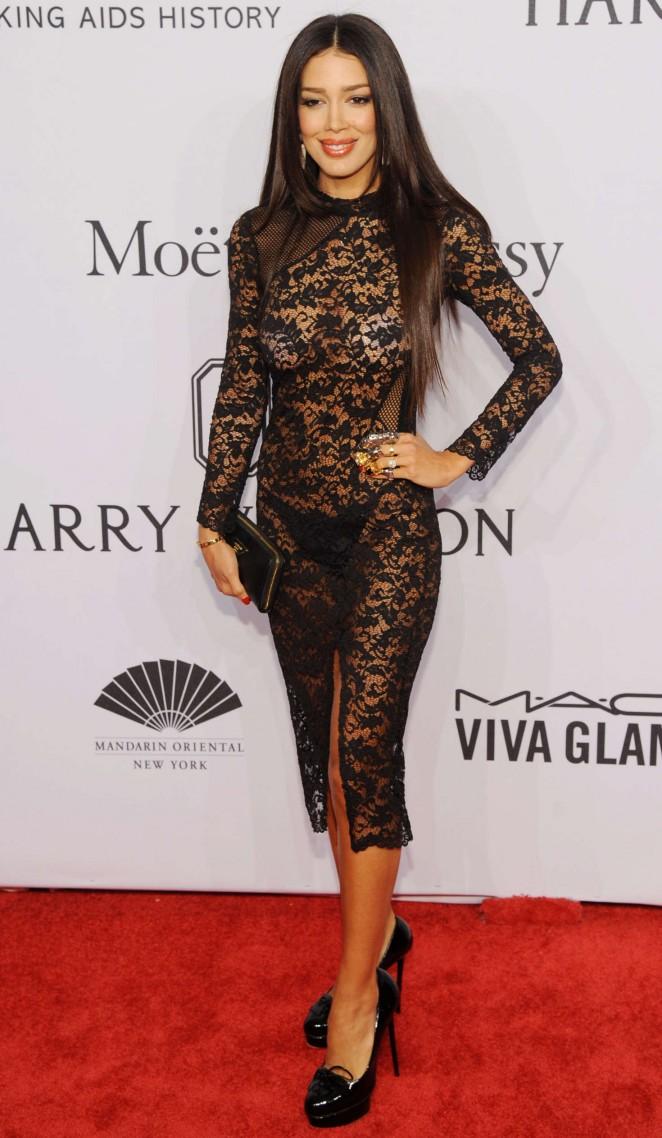 Sahar Biniaz - 2016 amfAR New York Gala in NYC
