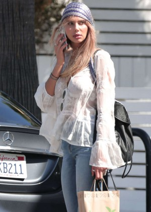 Sahara Ray in Jeans out in LA