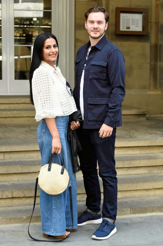 Sair Khan and Simon Lennon - Arrive at Peter St Kitchen in Manchester