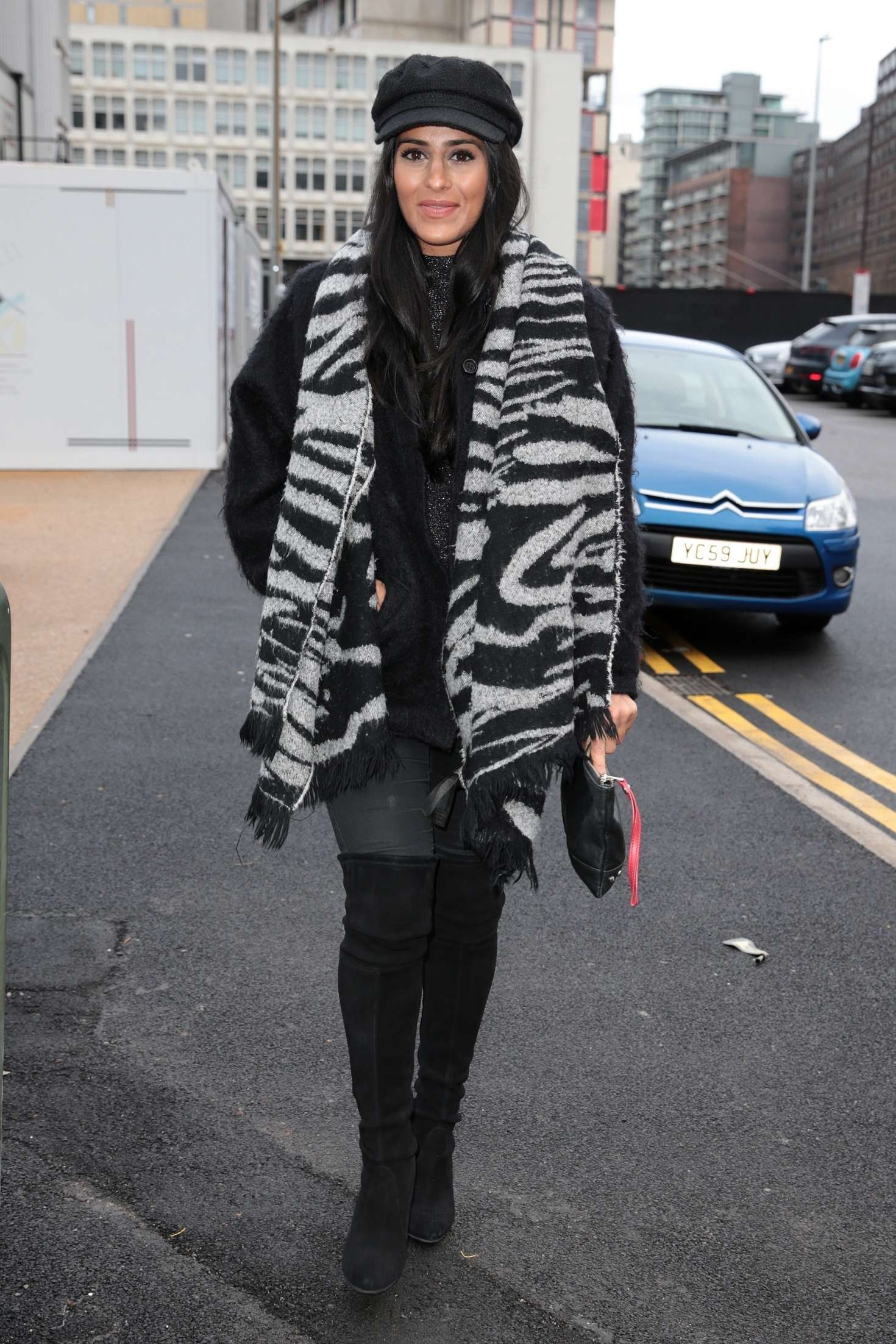 Sair Khan 2018 : Sair Khan: Arriving at Menagerie Restaurant -02
