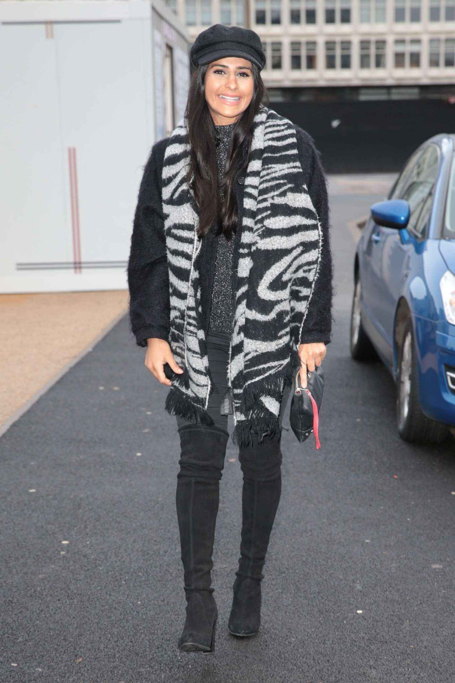 Sair Khan 2018 : Sair Khan: Arriving at Menagerie Restaurant -09