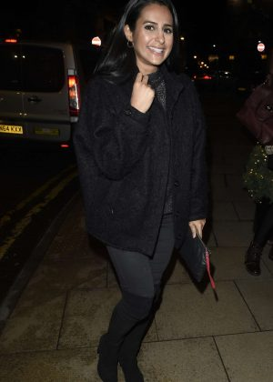 Sair Khan at Rosso Restaurant in Manchester