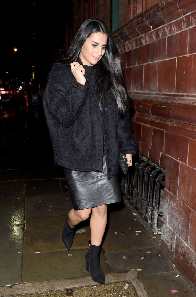 Sair Khan - Coronation Street Christmas Party in Manchester