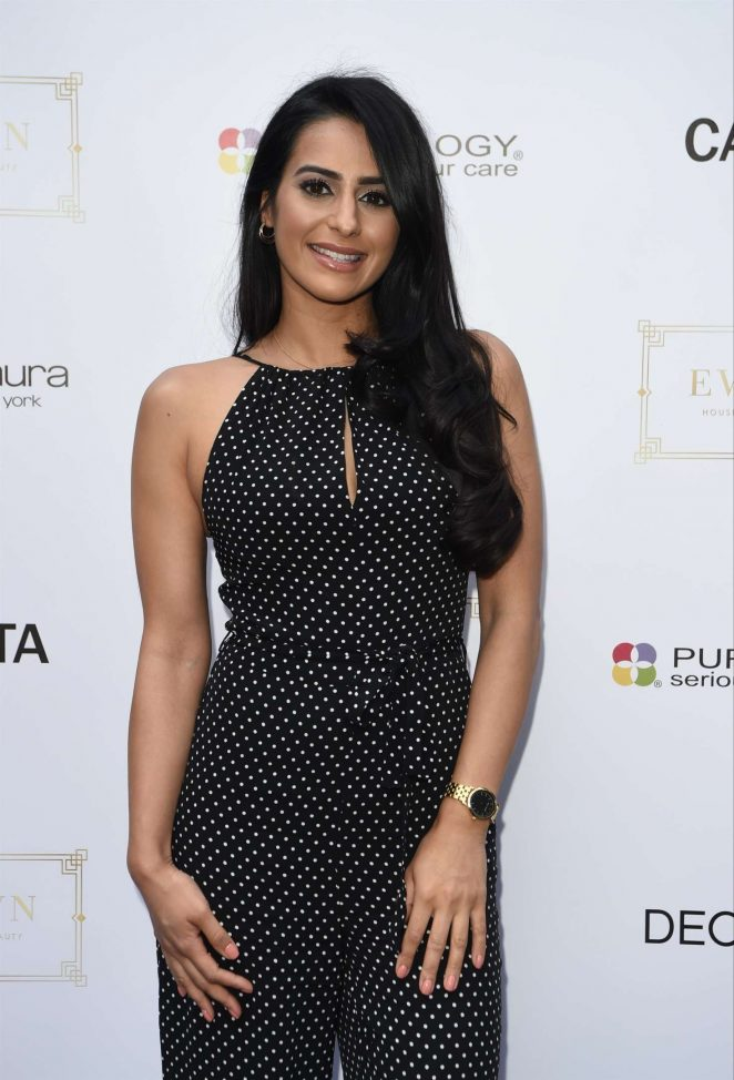 Sair Khan - Evelyn House Of Hair and Beauty 1st Birthday Party in Manchester