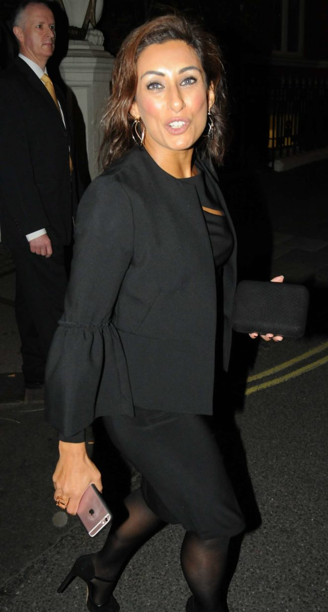 Saira Khan - Arrives at The Best Heroes Awards in London
