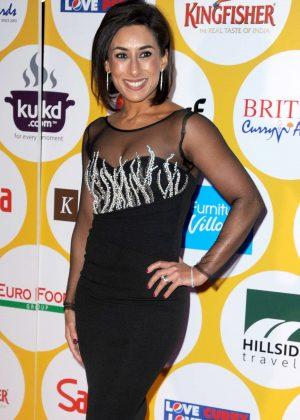 Saira Khan - British Curry Awards 2016 in London