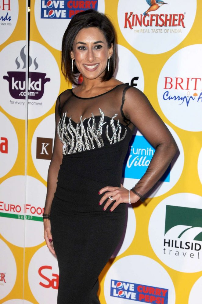 Saira Khan - British Curry Awards 2016 in London