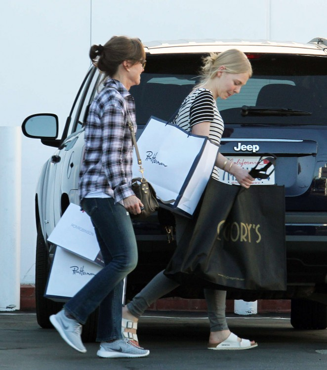Sally Field at Fred Segal in West Hollywood