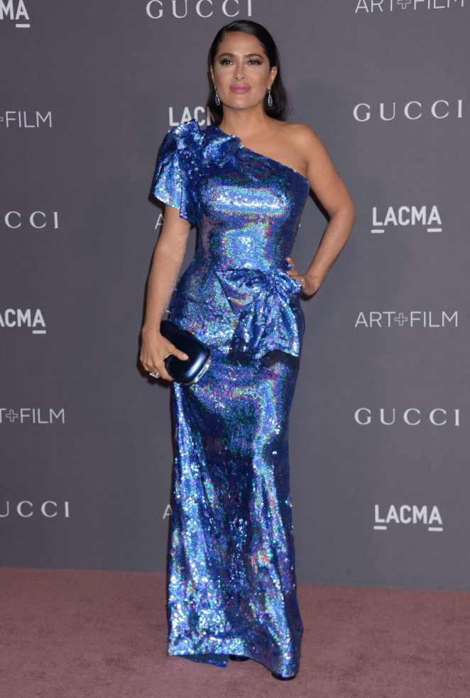 Salma Hayek - 2017 LACMA Art and Film Gala in Los Angeles