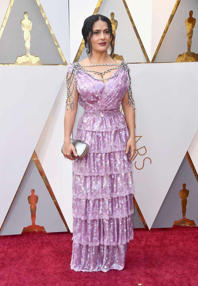 Salma Hayek - 2018 Academy Awards in Los Angeles