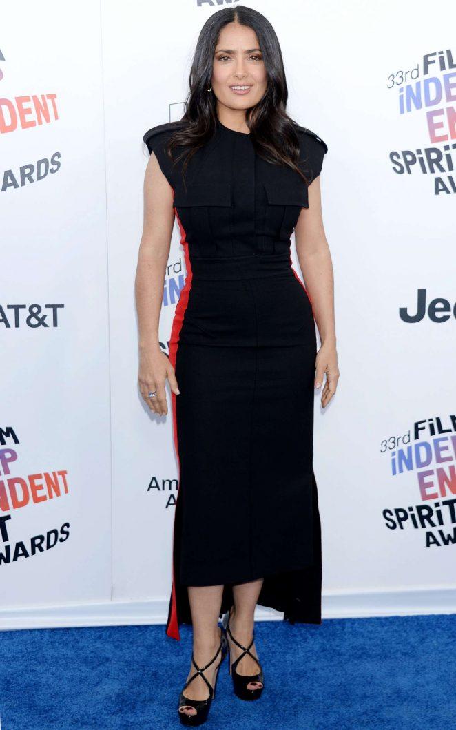 Salma Hayek - 2018 Film Independent Spirit Awards in Santa Monica