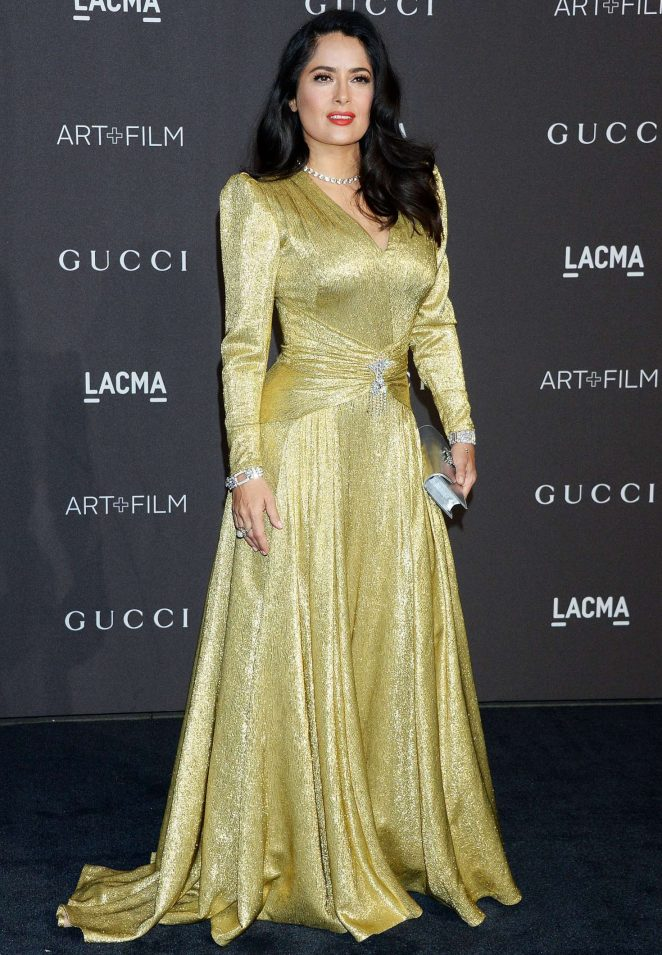 Salma Hayek – 2018 LACMA Art+Film Gala in Los Angeles