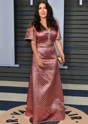 Salma Hayek - 2018 Vanity Fair Oscar Party in Hollywood