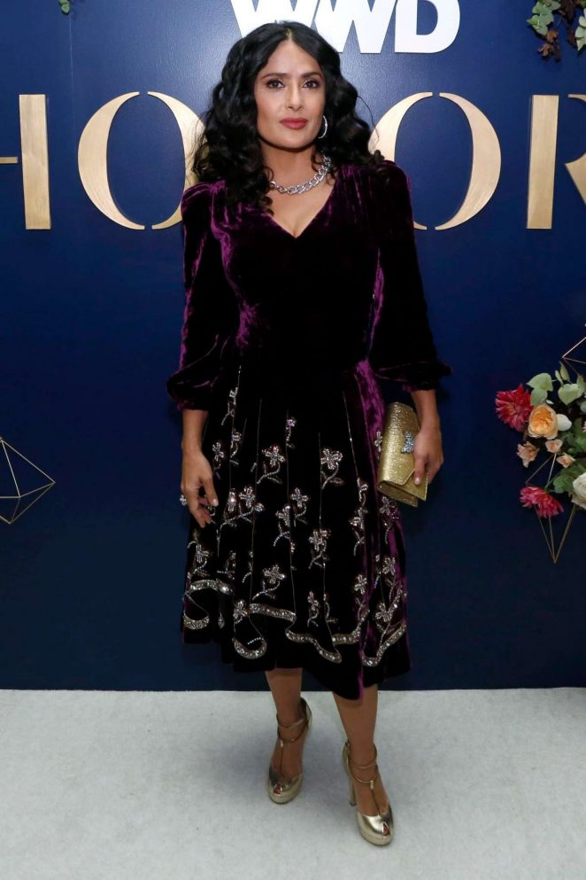 Salma Hayek - 3rd Annual WWD Honors in New York