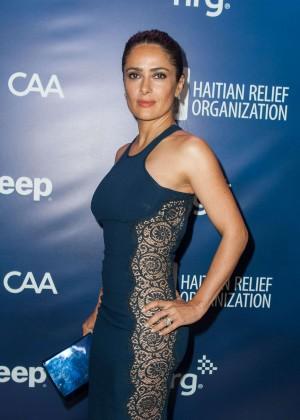 Salma Hayek - 4th Annual Sean Penn & Friends HELP HAITI HOME Gala Benefiting in LA
