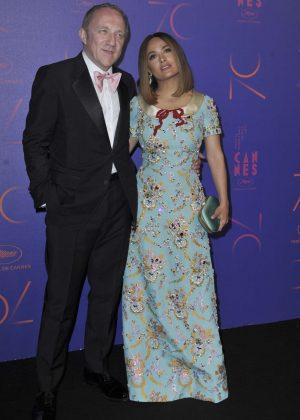 Salma Hayek - 70th Anniversary Dinner at 2017 Cannes Film Festival