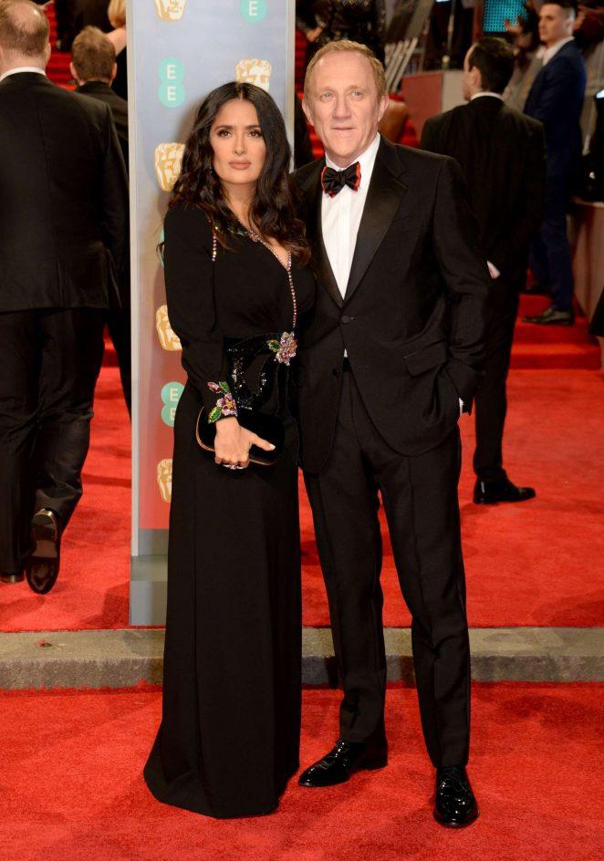 Salma Hayek: 2018 BAFTA Awards -02