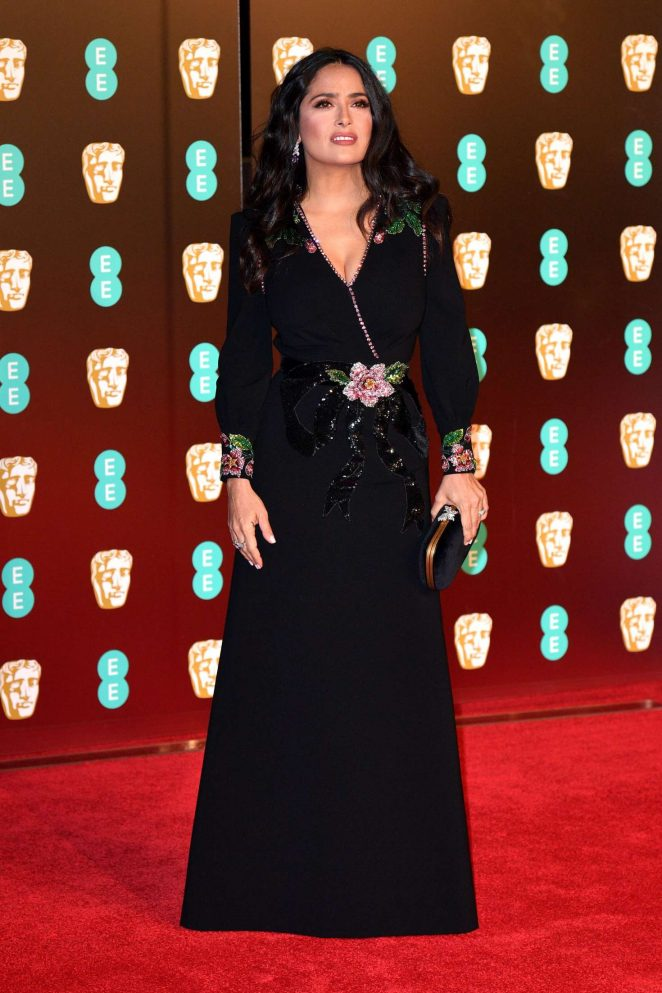 Salma Hayek: 2018 BAFTA Awards -04