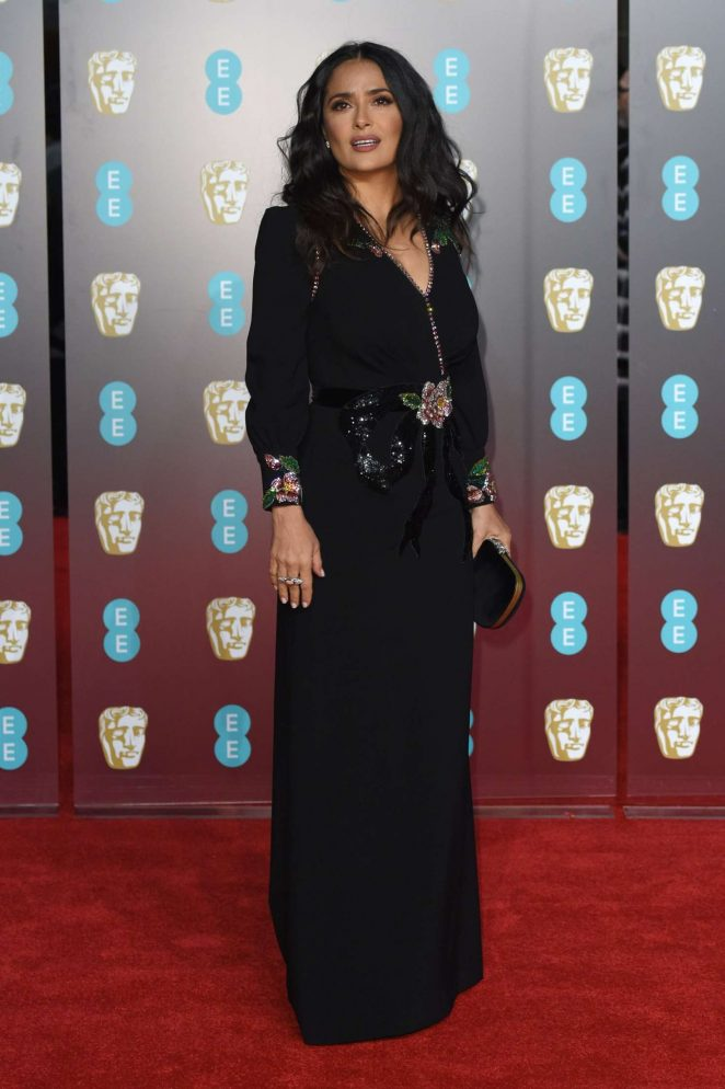 Salma Hayek: 2018 BAFTA Awards -05